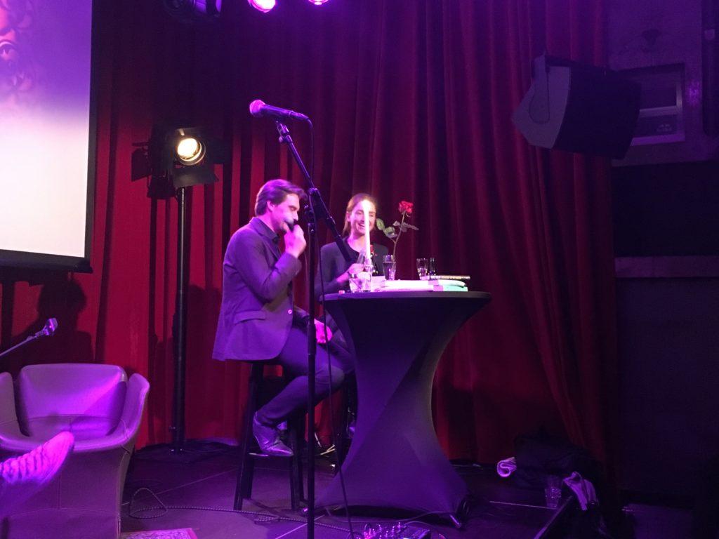 Auke Hulst en Laura van der Haar bij Lamoer